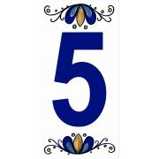Número 5 Cerâmica - Gabriella