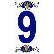 Número 9 Cerâmica - Gabriella