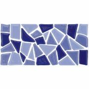 Revestimento de Parede Brilhante Unidade 10x20cm Azul Salvador - Eliane