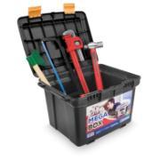 Imagem de Caixa para Ferramentas de Plástico Baú Mega Box 2040 - Arqplast