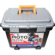 Caixa com Suporte Plástico Baú Moto Box 2140 - Arqplast