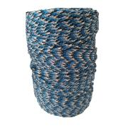 Corda para Amarração de Polipropileno 2,5mm x 286,0m Azul, preto e cinza - Cordaville