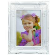 Porta Retrato Quadrado Unifoto Branco 23x18cm - SPF-430 - Jolie