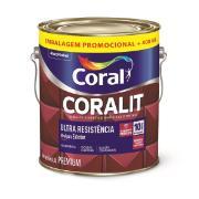 Tinta Esmalte Sintético Alto brilho Premium 4,0L - Branco Neve - Coralit Coral