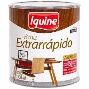 Verniz Extrarrápido Alto Brilho - Imbuia - 0,900L - Secagem Rápida Iquine
