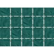 Revestimento de Parede Brilhante Craquelada 1,59m² 7,5x7,5cm Verde Jade Onda Mesh - Eliane