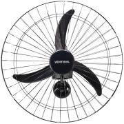 Ventilador de Parede Ventisol Premium 82 Preto Bivolt - 60cm 3 Velocidades