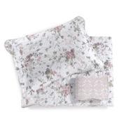 Imagem de Colcha King com Porta Travesseiro 3 Peças Nadine Rosa - Santista