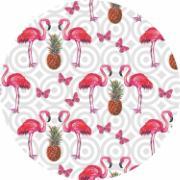 Capa para Sousplat de Tecido Flamingo TTS7052 - NSW
