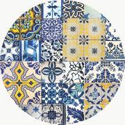 Capa para Sousplat de Tecido Azulejo Português TTS7127 - NSW