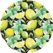 Capa para Sousplat de Tecido Limão Siciliano TTS7136 - NSW