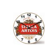 Imagem de  Relógio de Parede Wood 29 cm Stella Artois 1116 - Relobraz