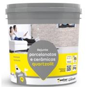 Imagem de Rejunte Porcelanato/Cerâmica Palha Balde/2kg - Quartzolit
