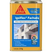 Pintura Impermeabilizante Igolflex Fachada 23kg - Sika