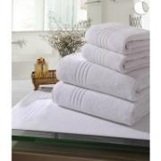 Toalha de Banho Lisa Profissional 90% Algodão E 10% Poliéster 80 X 140 Branco - Santista