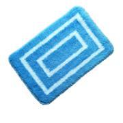 Tapete de Banheiro Antiderrapante 40x60cm Azul - Bianchini