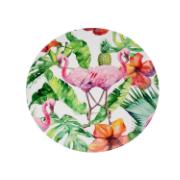 Imagem de Sousplat Redondo Plástico 33cm Rosa Claro - Noritex