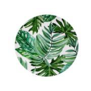Sousplat Redondo Plástico 33cm Verde 511044 - Noritex