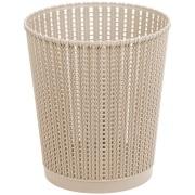 Lixeira para Escritório de Plástico 6,0L Bege TG51185 - Bianchini
