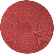 Pano Americano Redondo 38 cm Plástico Vermelho - Bianchini