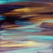 Quadro Decorativo em Canvas 50x100 cm Abstrato Mix - Jolie