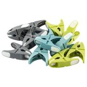 Prendedor de Roupas Plástico 12 Unidades Verde 083 - Bianchini
