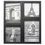 Painel Multifotos 15x21 e 15x15 cm Preto 68129 - Kapos