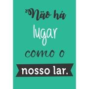 Imagem de Placa Decorativa em MDF 30x20 cm Nosso Lar 68412 - Kapos