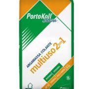 Imagem de Argamassa ACII Multiuso 2 Em 1 20kg - PortoKoll