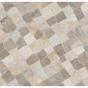Cerâmica Grigio - beige Acetinado Tipo A Borda Bold 60x60cm 2,5000 m² Marrom Claro - Incesa