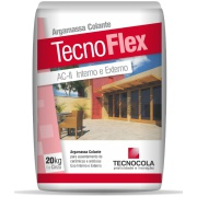 Imagem de Argamassa ACII Tecnoflex 20kg - Tecnocola