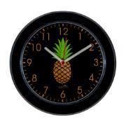Imagem de  Relógio de Parede Kairos 24 cm Abacaxi Preto 3640 - Relobraz