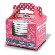 Forma de Alumínio Polido para Cupcake Redondo 7cm 6 Peças - Arnix