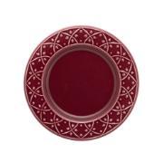 Prato de Sobremesa Redondo em Cerâmica Corvina 20cm - Oxford