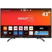"Smart TV LED 43"" Aoc Full HD LE43S5970S - Wi-Fi 3 HDMI 2 USB"