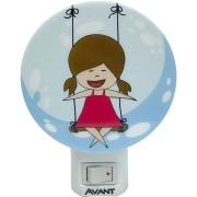 Luminária de Luz Noturna LED Menina - Avant