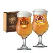Jogo de Taças de Cerveja Vidro 400ml 2 Peças 2680565 - Ruvolo