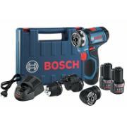 Furadeira e Parafusadeira a Bateria 12V Reversível Bivolt - 06019F60E0-000 - Bosch