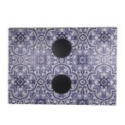 Imagem de Esteira para Sofá Azul - Azulejo - Az Design