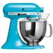 Batedeira Stand Mixer Artisan 275W 127V 10 Velocidades Crystal Blue - KEA33CW - Kitchenaid