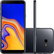"""Smartphone Samsung Galaxy J4+ Dual Chip Tela 6,0"""" Quad Core 32GB 4G Wi-Fi Câmera de 13MP Preto"""