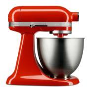 Batedeira Stand Mixer Artisan Mini 250W 127V 10 Velocidades Hot Sauce - KEA25AH - KitchenAid