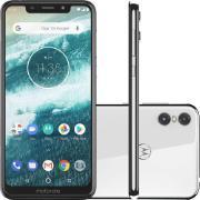 "Smartphone Motorola One Dual Chip Tela 5,9"" Octa Core 64GB 4G Wi-Fi Câmera de 13MP+2MP Branco"
