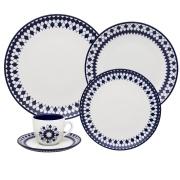 Imagem de Aparelho de Jantar de Porcelana 20 Peças Chess Oxford