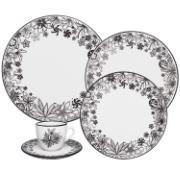 Imagem de Aparelho de Jantar de Porcelana 20 Peças Oxford