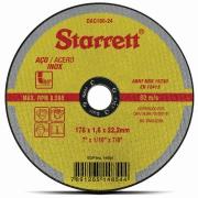 """Imagem de Disco de Corte Aço Inox 180x1,6x22,2 mm 7"""" - Starrett"""