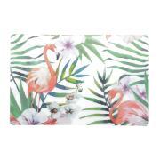 Pano Americano Retangular Flamingo 28,5 x 43,5 cm Plástico - Coliseu