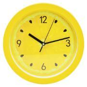 Imagem de Relógio de Parede Limão 25 cm Amarelo 02032 - Rio de Ouro