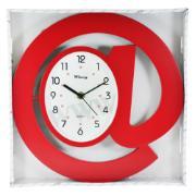 Imagem de Relógio de Parede @ 30cm Vermelho 2036 - Rio de Ouro