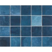 Imagem de Revestimento Noronha Mar Mesh Brilhante Craquelada 7,5x7,5cm 1,59 m²  Azul - Eliane